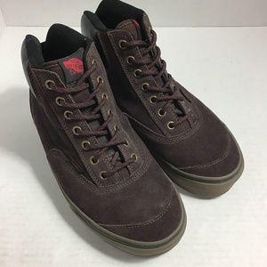 Vans Brown Suede High Top Sneaker 8.5 men's